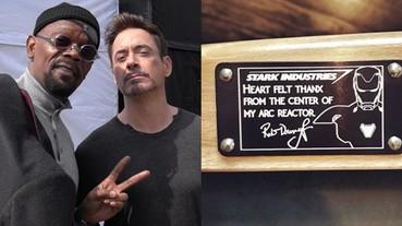 真正的鋼鐵人!小勞勃道尼拍完《復仇者聯盟 4》 竟送劇組這個訂製禮物...