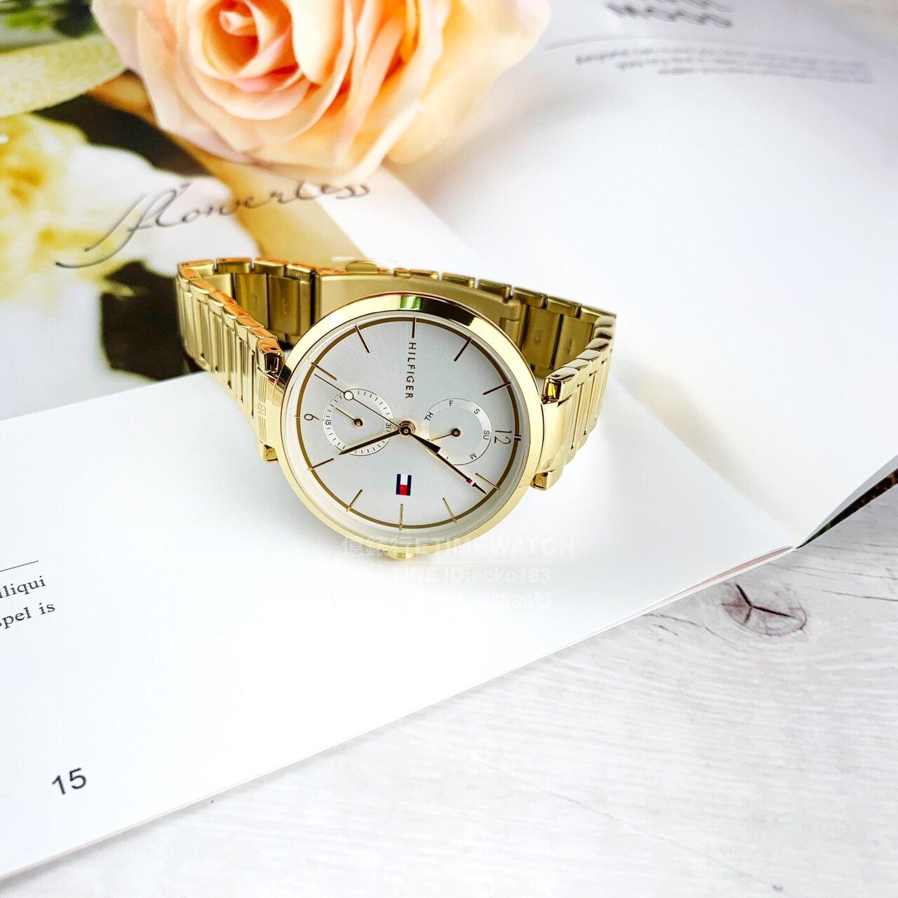 TOMMY-HILFIGER簡約日曆時尚腕錶TH700032/1782128原廠公司貨