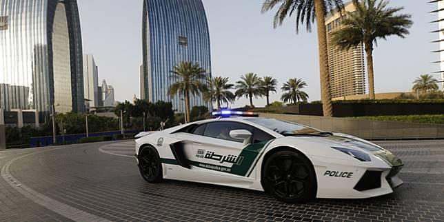 Lamborghini Aventador jadi mobil polisi Dubai (CNN)