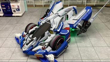 當鋼彈遇到四驅車,日本模型神人將鋼彈設計融入四驅車改裝中