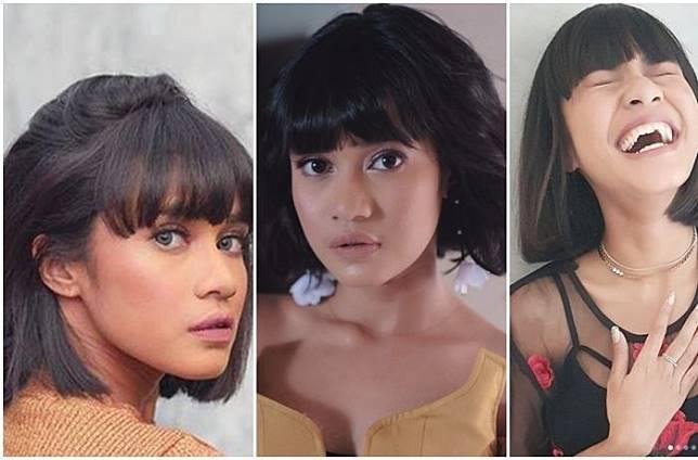 4 Inspirasi Gaya Rambut Bob ala Penyanyi Cantik Audrey Tapiheru yang Bisa  Dicontek Buat Tahun Baru 5c5624f64f