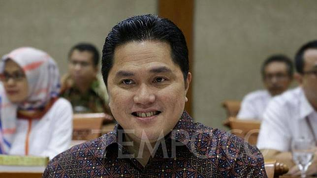 Menteri BUMN Erick Thohir. TEMPO/Muhammad Taufan Rengganis