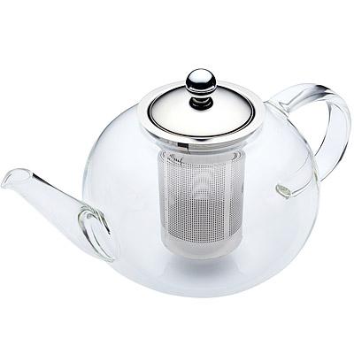 英國百年餐廚品牌茶壺容量1.4L優雅晶透渾圓壺型大容量濾茶器咖啡烏龍花草茶飲