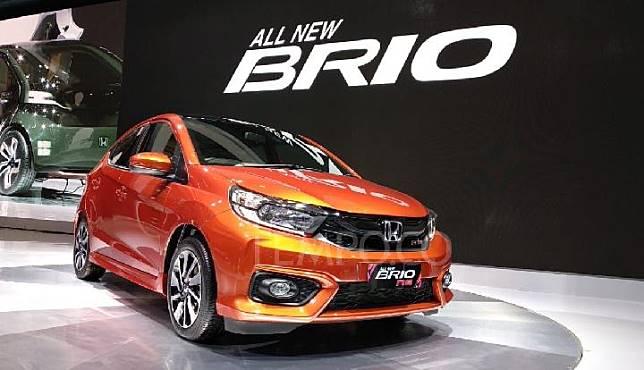 All New Honda Brio world premiere di GIIAS 2018. 2 Agustus 2018. TEMPO/Wawan Priyanto.