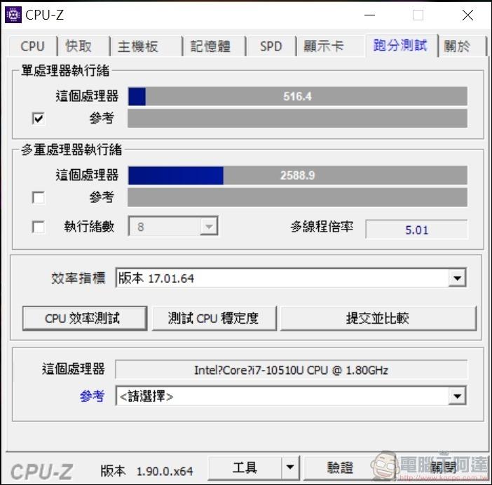 ASUS ZenBook Duo UX481 效能測試 -03