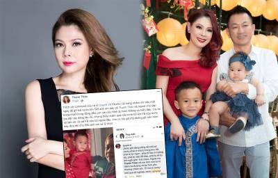Vừa về Việt Nam, Thanh Thảo bức xúc vì con trai Ngô Kiến Huy bị đặt điều, nói xấu
