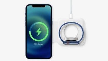【蘋果新品發表會】MagSafe 復活!變身 iPhone、Apple Watch 磁性無線充電器