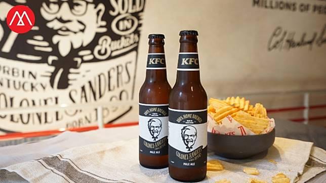 สนใจฝ่าม็อบไปลองไหม เมื่อ 'KFC' เปิดคราฟท์เบียร์และมันฝรั่งทอดของตัวเอง ที่ฮ่องกง