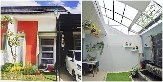 Desain Rumah Unik Tipe 45 M Meski Mungil Ada Indoor Garden
