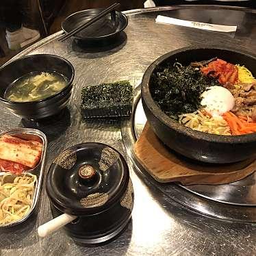 実際訪問したユーザーが直接撮影して投稿した大久保韓国料理カントンの思い出 新大久保店の写真