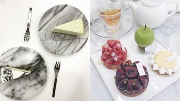 超氣質系甜點 和閨蜜下午茶狂拍的好去處!不止食物超好拍環境更好拍~人人都可以當網美