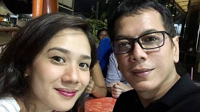 Wishnutama dan sang istri, Gista Putri. (Instagram/@wishnutama)