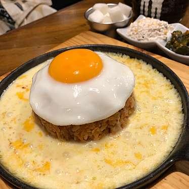 実際訪問したユーザーが直接撮影して投稿した百人町韓国料理モンナンカムジャチキンの写真