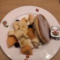 F-Set(日替わりパンケーキ) - 実際訪問したユーザーが直接撮影して投稿した代々木カフェ果実園リーベル 新宿店の写真のメニュー情報