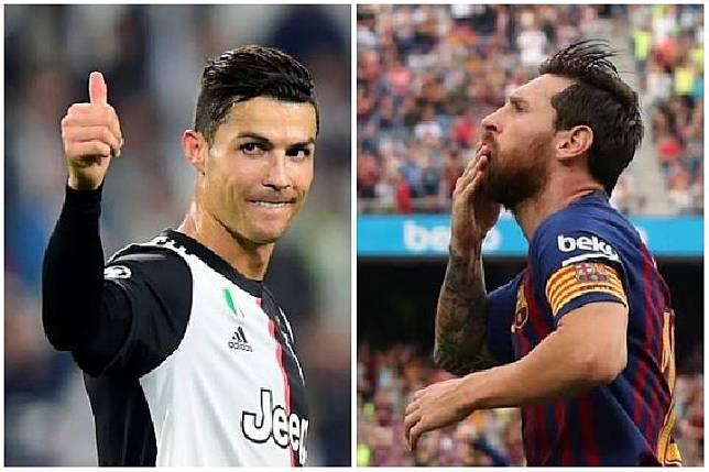 Cristiano Ronaldo dan Lionel Messi. (reuters)