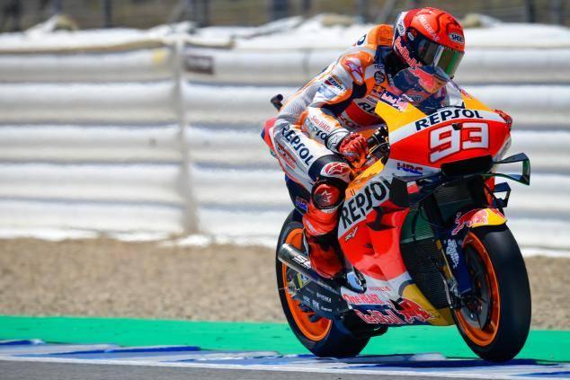 Tak Mau Ambil Risiko, Marc Marquez Hanya Selesaikan 7 Lap di Tes Pascabalap Jerez