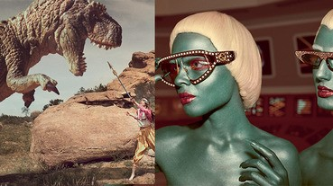 別轉台,您沒看錯~Gucci秋冬廣告獻上「外星人大戰哥吉拉」