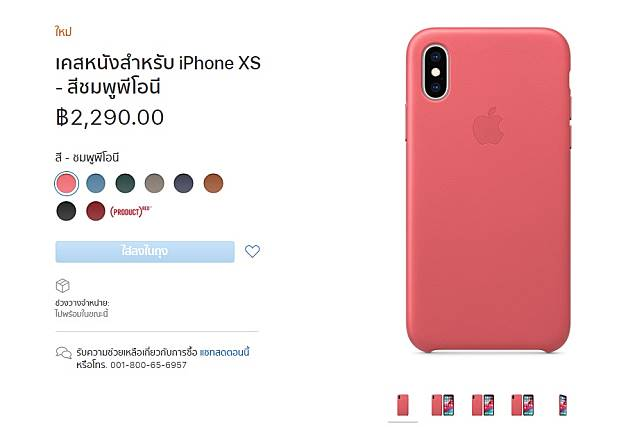 Iphone Xs Leather Case Apple
