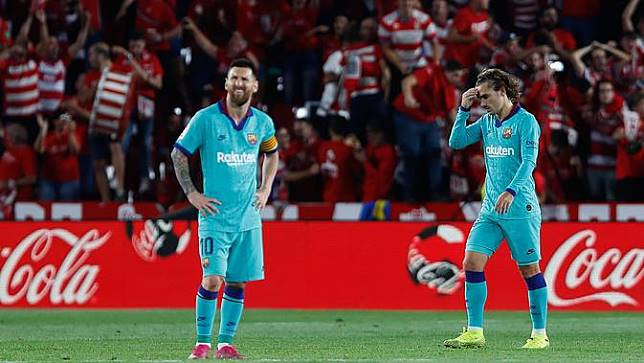 Griezmann dan Messi Tak Harmonis, Barcelona Makin Cemas