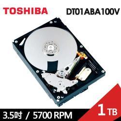 TOSHIBA東芝【AV影音監控】1TB 3.5吋 SATA III 內接硬碟(DT01ABA100V)