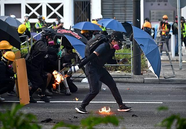 本港示威衝突持續達半年。資料圖片