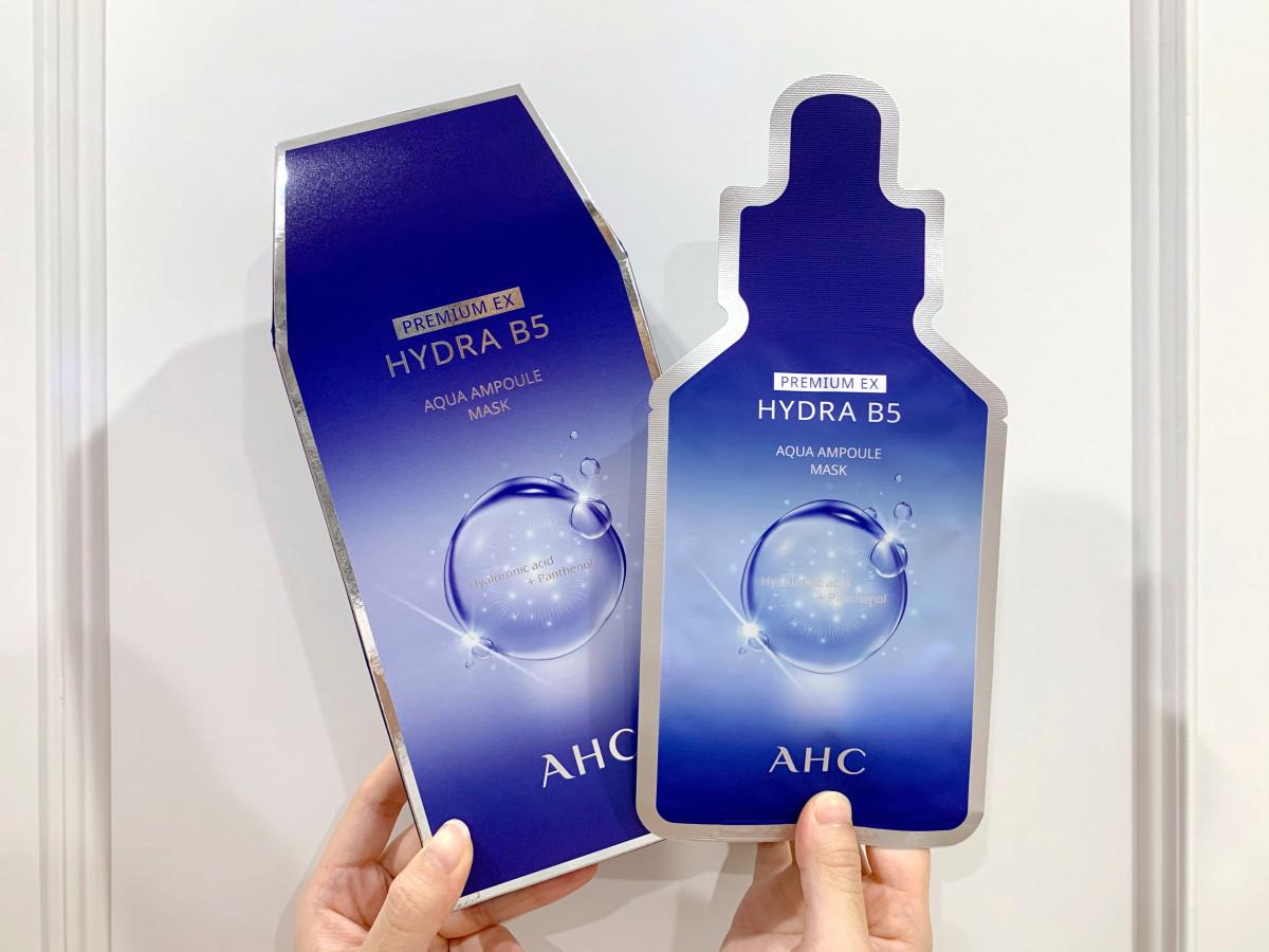 AHC 瞬效保濕B5微導安瓶面膜 5入/盒,NT.600
