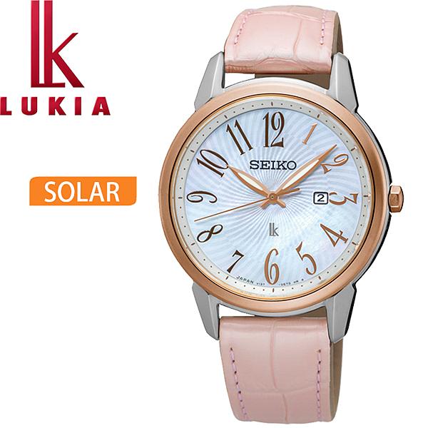 台灣代理商公司貨n藍寶石水晶鏡面n珍珠貝殼錶面n日期顯示nSUT300J1(V137-0CG0K)