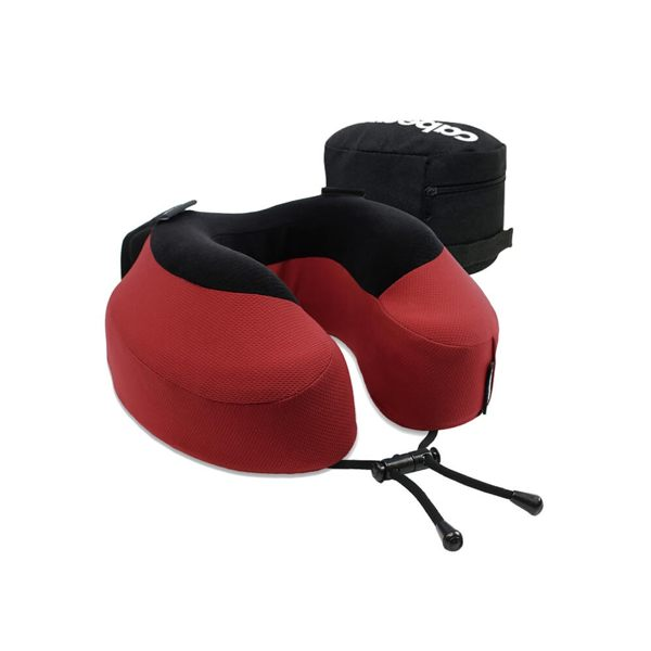 ◇可調節繫帶一枕多用n◇防止頭部滑落n◇記憶泡棉材質支撐力好n◇附拉鍊式收納袋,可將頸枕壓縮至1/2