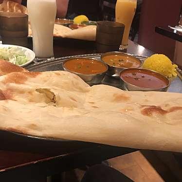 実際訪問したユーザーが直接撮影して投稿した新宿インド料理絶品チーズナン×コスパ抜群サプライズ まさらダイニング 新宿の写真