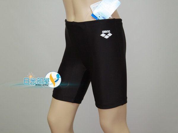 *日光部屋* arena (公司貨)/ A187NJ-BLK 馬褲型/男童泳褲