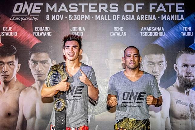 One Championship live stream: Masters of Fate in Manila