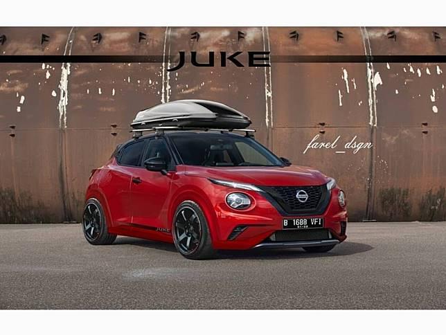Modifikasi digital Nissan Juke terbaru