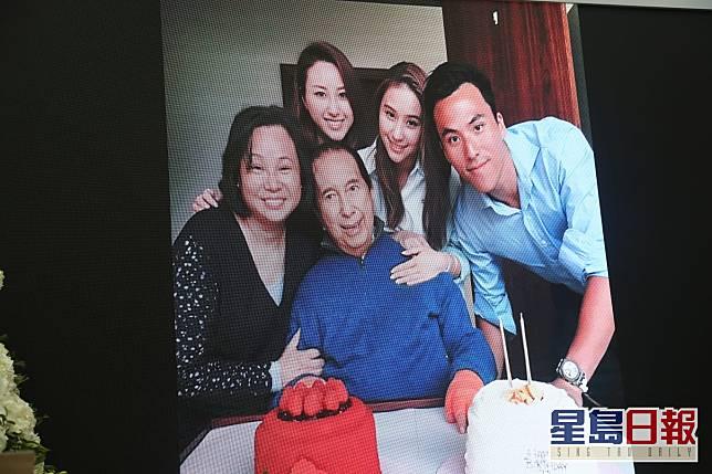 患病時三太陳婉珍及3子女悉心照顧,溫馨慶生。