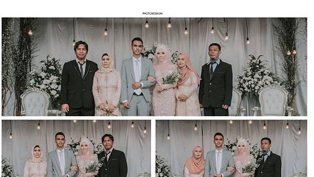 Pernikahan Viral Clarissa dan Fathi