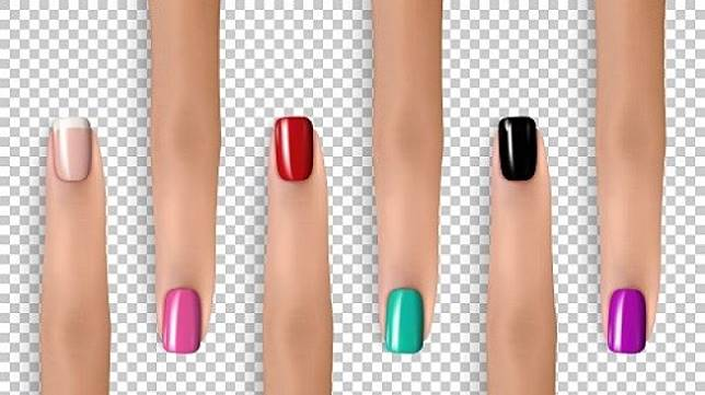 Bentuk kuku panjang kecil (long and narrow nail). (Shutterstock)