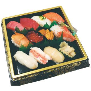 本まぐろ入り寿司盛合せ 1人前