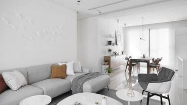 【美圖懶人包】白色經典不敗 4 大關鍵!室內設計歷久不衰的純白美學