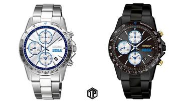 SEGA x Seiko 推出全新聯乘腕錶系列!