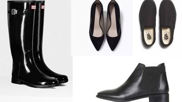 有了這5款女孩必備的黑色鞋 再也不怕衣服難搭配了!