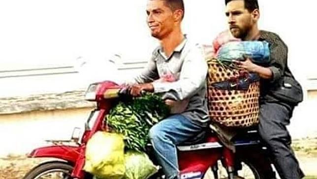 Bikin Kesal tapi Lucu, 7 Meme Messi dan Ronaldo Pulang Bareng dari Piala Dunia 2018