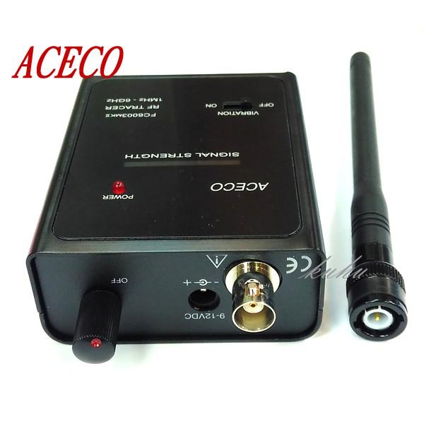 ACECO FC6003MKII 反偷拍 反針孔 反竊聽 反跟蹤偵測器 探測器FC6003MKII 能有效追蹤在車內或房內之隱藏發射機 . 並加以定位 . 在保全反監聽或反偷拍之應用有其優越特性檢查房