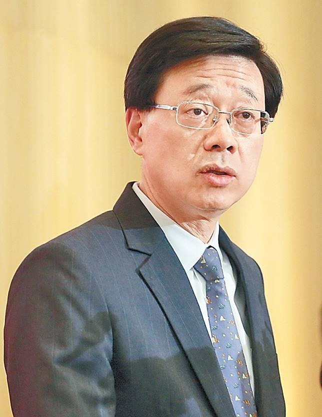 李家超指政府認為法案委員會的審議功能已經失效。