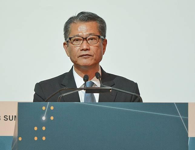 陳茂波將出席大阪G20峰會。資料圖片