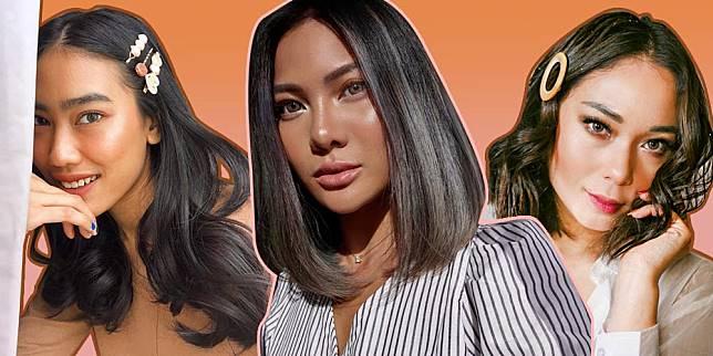 7 Pilihan Warna Rambut untuk Kulit Sawo Matang