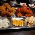ハーフハーフ - 実際訪問したユーザーが直接撮影して投稿した百人町韓国料理ジョンノ 新大久保店の写真のメニュー情報