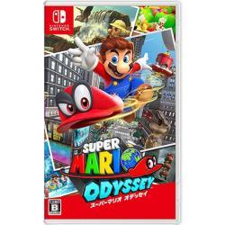 【Nintendo 任天堂】Switch 超級瑪利歐 奧德賽 (台灣公司貨)