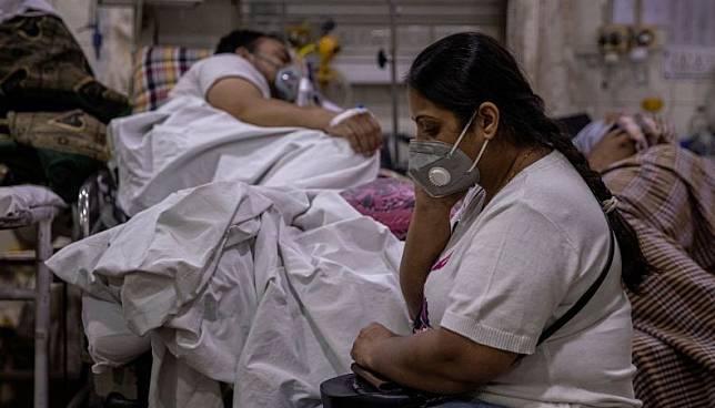 Kasus infeksi Covid-19 di India mencetak rekor baru, Jumat (7/5), yakni menembus 414.000 orang(Foto: Reuters)