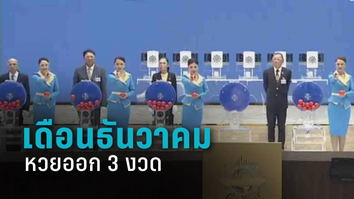 ธันวาคมหวยออก 3 งวด อย่าลืม! 30 ธ.ค.นี้ งวดส่งท้ายปี 63 | PPTV HD 36