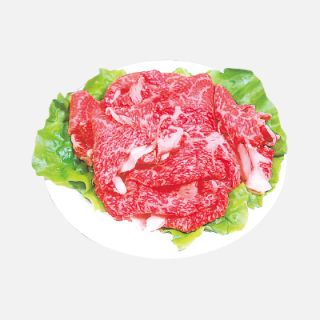 牛焼肉用切落し(解凍含)