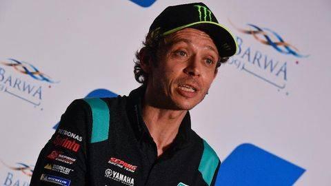 Valentino Rossi mengaku tidak terlibat langsung pembentukan Aramco VR46 MotoGP. (motogp.com)